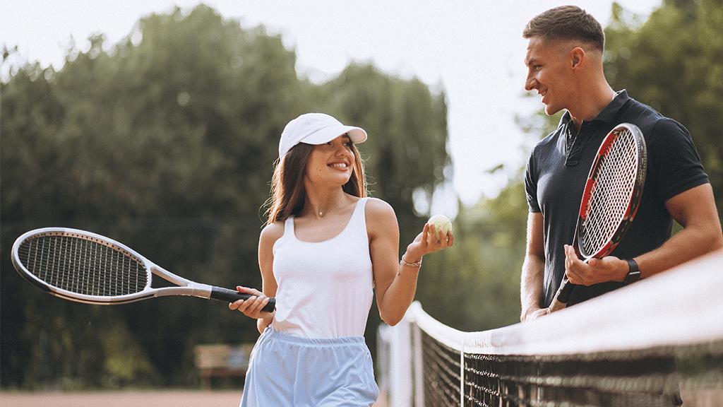 Illustration de la définition de l'égalité au tennis