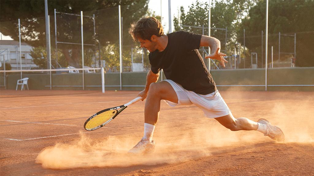 Illustration de l'article concernant la définition chop au tennis
