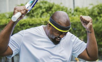 illustration de la définiton de la faute directe au tennis