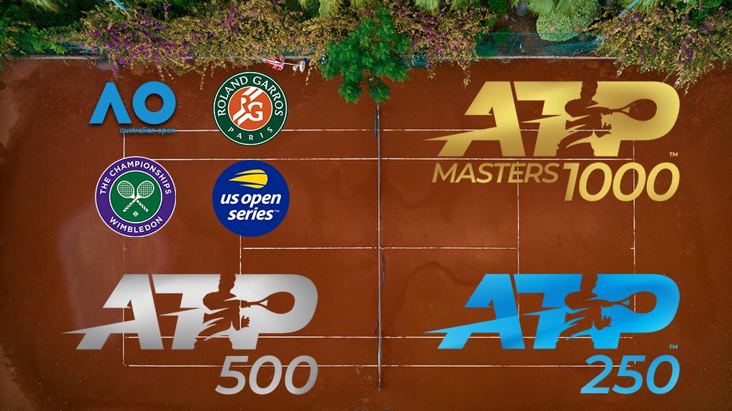 Image de mise en avant de la page des tournois ATP