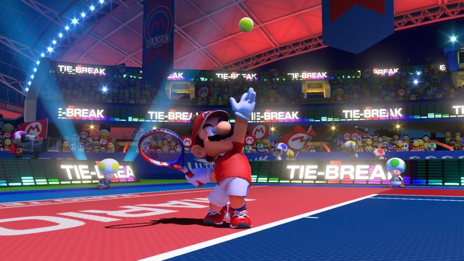 Illustration du jeu vidéo de tennis Mario Tennis Aces